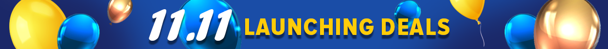 11.11 Launching Deals Banner