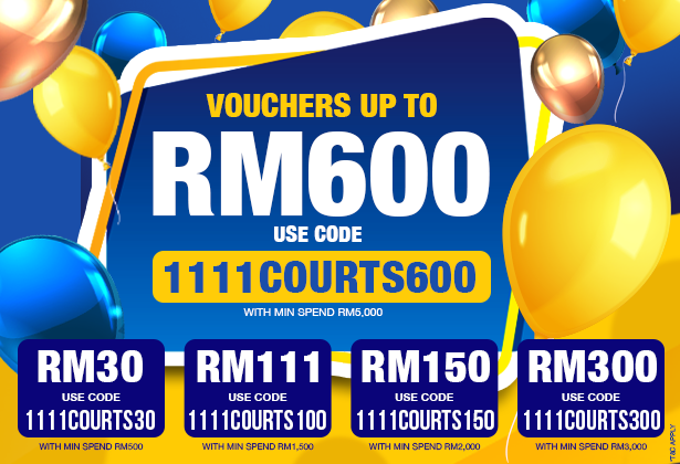 Voucher up to RM600 Banner