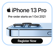 iphone Floating Banner